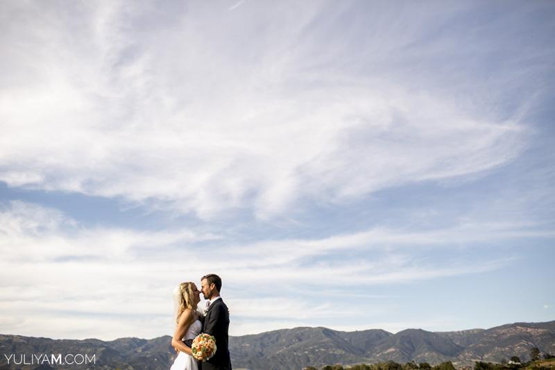 Santa Barbara community church wedding