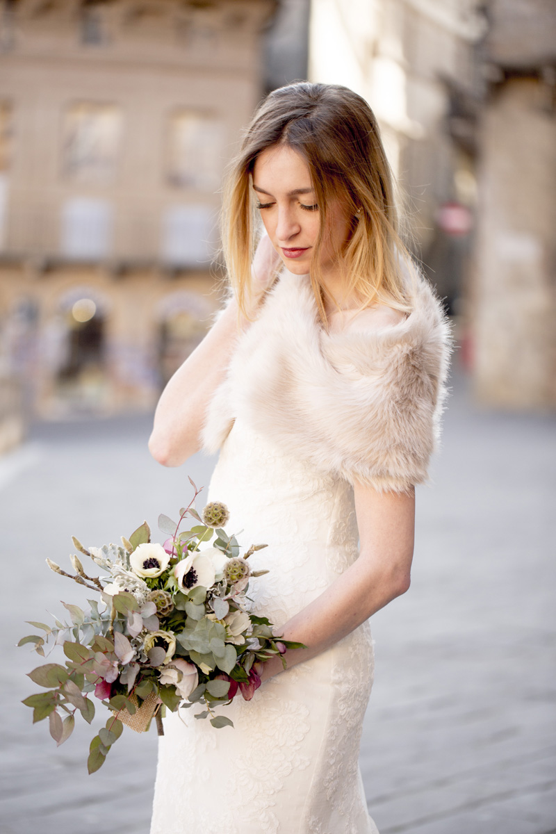 Siena Italy wedding, bridal shoot in Italy