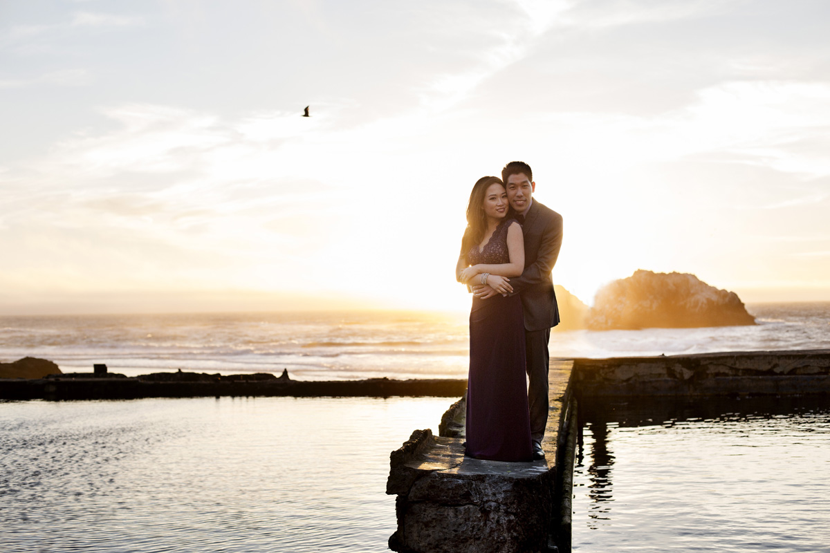 Sutro Baths Engagement Shoot, San Francisco Photographer